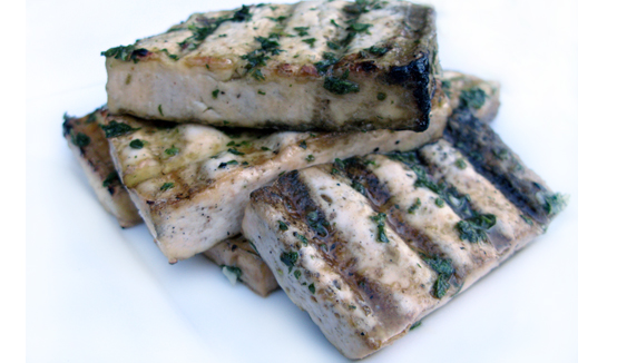 Mint Grilled Tofu, Honest Fare by Gabrielle Arnold