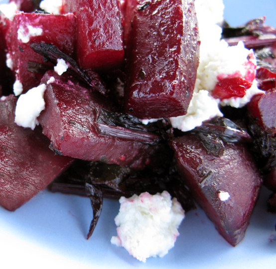 Beth's Beets & Goat Cheese, Honest Fare by Gabrielle Arnold