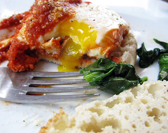 Eggs Poached in Tomato Sauce, Honest Fare by Gabrielle Arnold