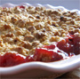 Ethereal Strawberry-rhubarb crumble, Honest Fare by Gabrielle Arnold