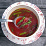 Detox Soup: Cleansing Miso, Beet, Asparagus, Honest Fare by Gabrielle Arnold