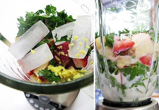 green-smoothie-process