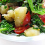 Lazy kale mash up., Honest Fare by Gabrielle Arnold
