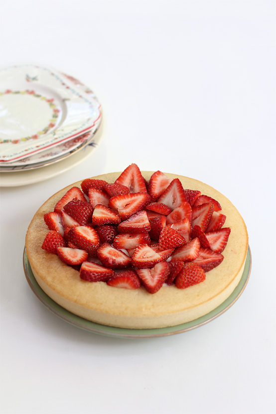 Vegan strawberry shortcake, Honest Fare by Gabrielle Arnold