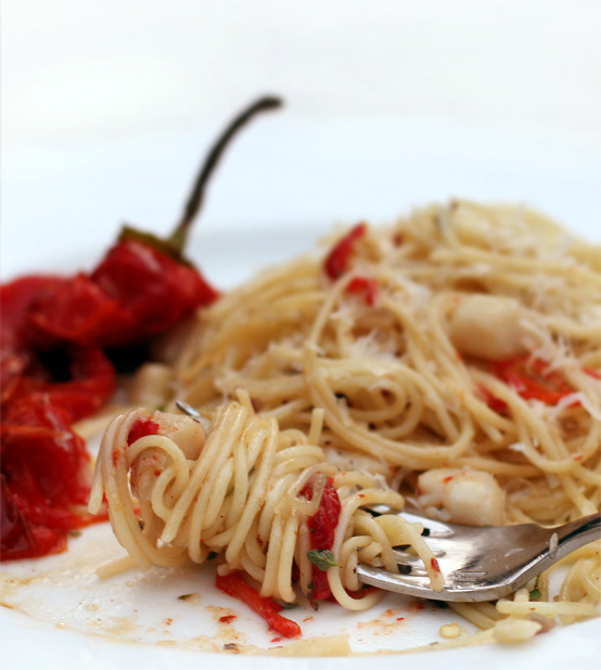 scallop-pasta-sweet-roasted-pepper-2