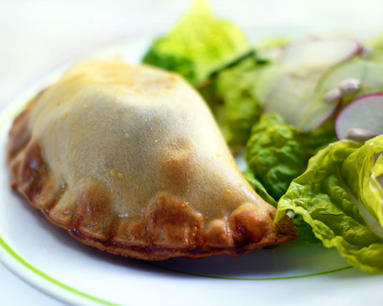 empanada-and-salad