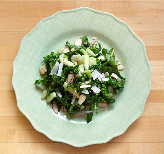 Kale & Honeydew Summer Salad, Honest Fare by Gabrielle Arnold