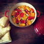 Garlic & Sweet Pepper Confit., Honest Fare by Gabrielle Arnold