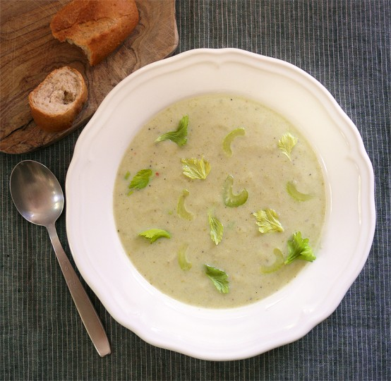 Magical Celery Bisque (vegan), Honest Fare by Gabrielle Arnold