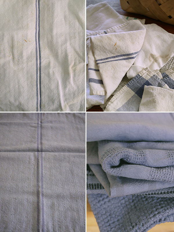before and after dyed linen honestfare.com