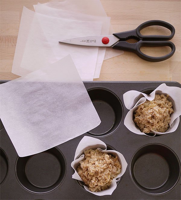 parchment paper muffin cups honest fare