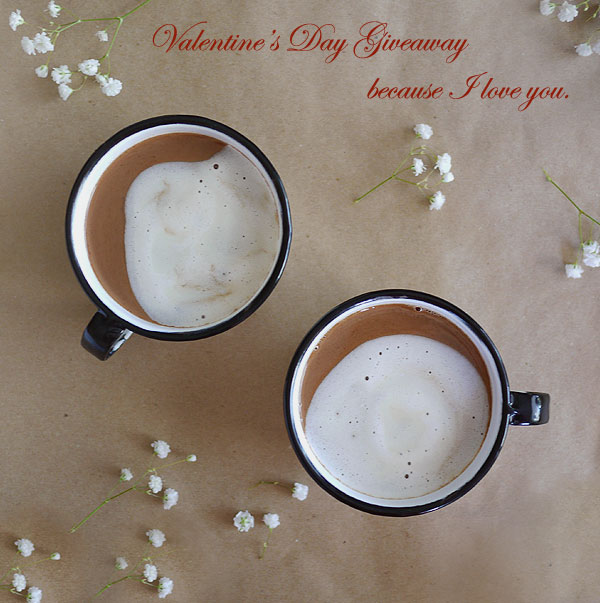 Romantic Cocoa Maple Bourbon Brew. And a Valentine's Day Giveaway!, Honest Fare by Gabrielle Arnold
