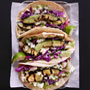 Grilled Avocado Tacos with Cilantro Yogurt Sauce., Honest Fare by