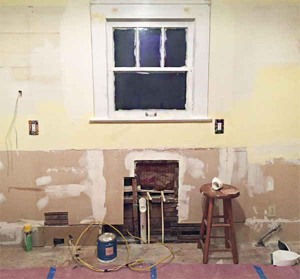 My excuse: kitchen renovation., Honest Fare by Gabrielle Arnold