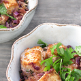 Tofu & Purple Cabbage with Soba Noodles, Honest Fare by Gabrielle Arnold
