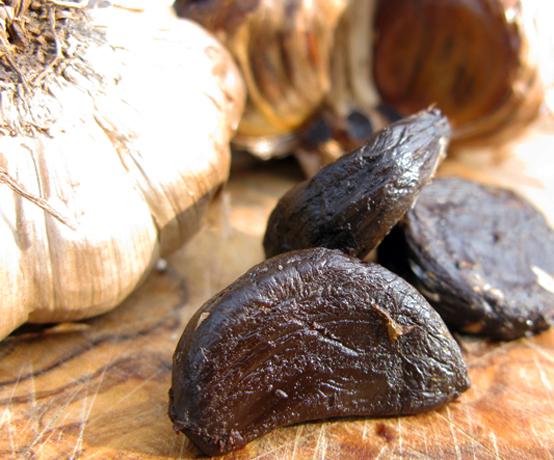 Black garlic, Honest Fare by Gabrielle Arnold