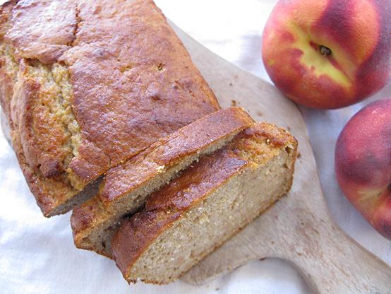 Ginger Peach Bread (Happy Birthday, Lanny!), Honest Fare by Gabrielle Arnold