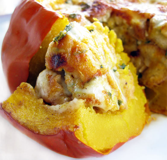 Cheesy Stuffed Pumpkin, Honest Fare by Gabrielle Arnold
