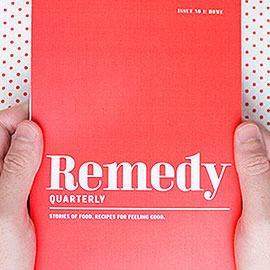 Remedy Magazine, Honest Fare by Gabrielle Arnold