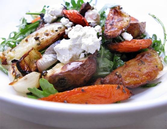 Winter Salad, Honest Fare by Gabrielle Arnold