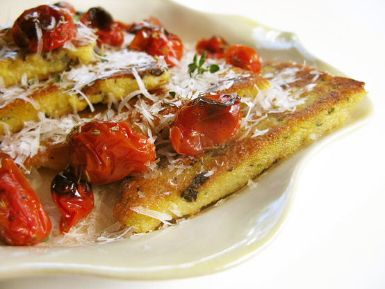 polenta-serving-dish-tomatoes