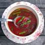 Detox Soup: Cleansing Miso, Beet, Asparagus, Honest Fare by Gabrielle Arnold