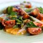 Florida Tangelo, Avocado & Heirloom Tomato Salad, Honest Fare by Gabrielle Arnold