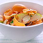Curried Carrot Ribbon & Pear Salad., Honest Fare by Gabrielle Arnold