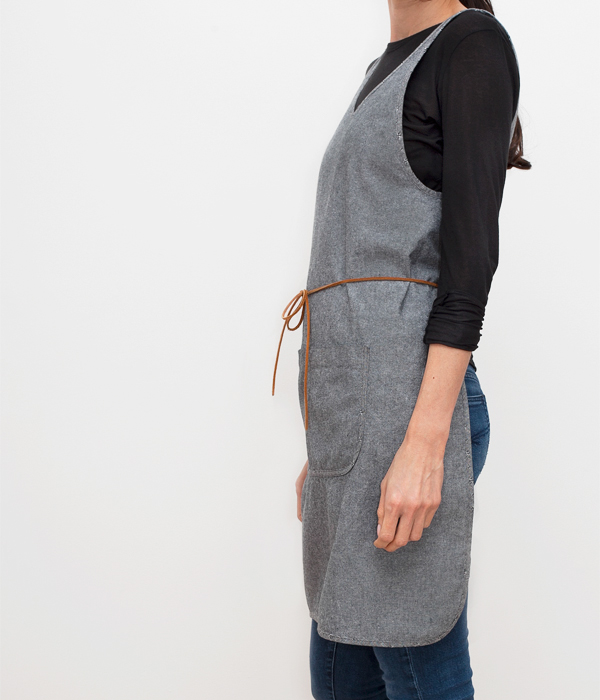 cooking smock-ash-profile-honest fare apron collection