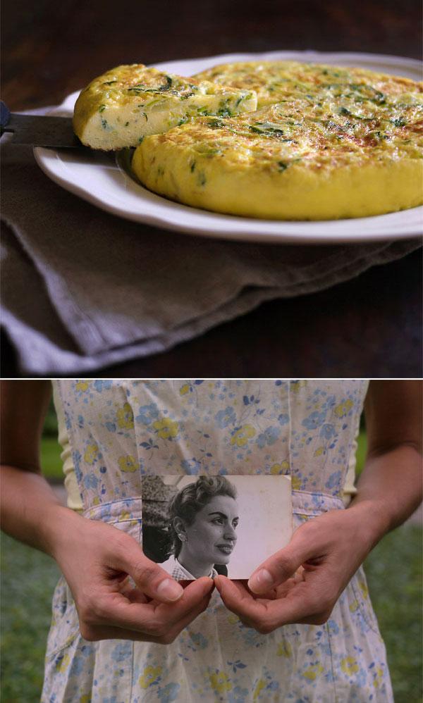 Yaya's tortilla española of summer squash., Honest Fare by Gabrielle Arnold
