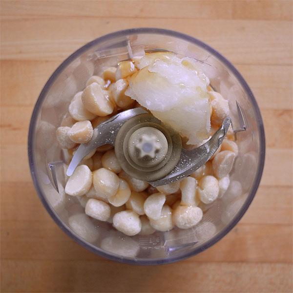 vegan macadamia nut butter
