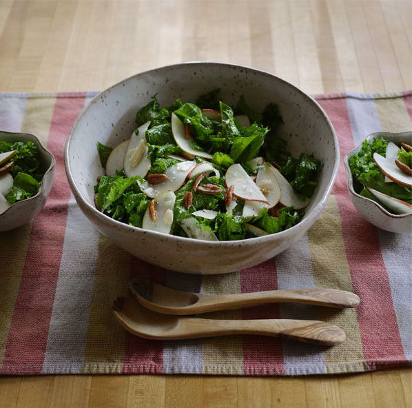 Mustard Greens Salad? Oh, yeah., Honest Fare by Gabrielle Arnold