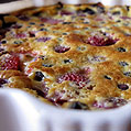 Berry Clafoutis, Honest Fare by Gabrielle Arnold