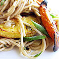 Parsnip & Carrot Whole Wheat Pasta, Honest Fare by Gabrielle Arnold